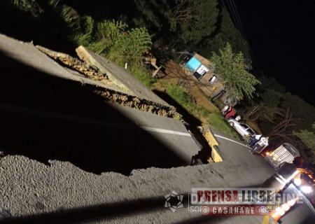 Cerrado el paso para vehículos pesados entre Tauramena y Aguazul - Noticias de Colombia