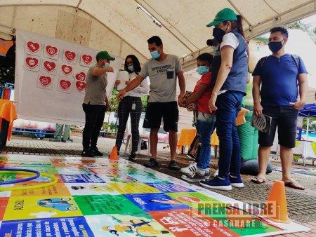Feria intersectorial movilidad saludable, segura y sostenible en Tauramena - Noticias de Colombia