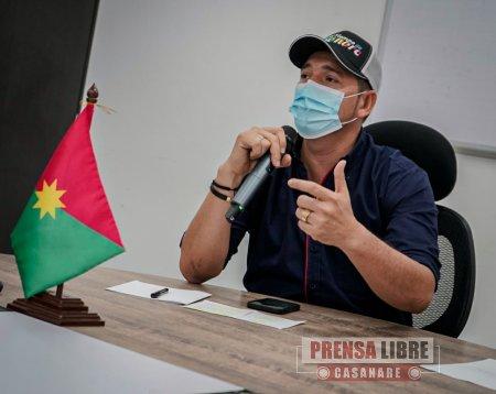 Gobernador informó sobre el avance de 4 obras que hacen parte del pacto funcional Casanare - Noticias de Colombia