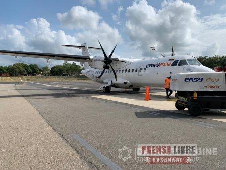 A partir del 02 de septiembre, Easyfly tendrá ruta directa entre Medellín y Yopal - Noticias de Colombia