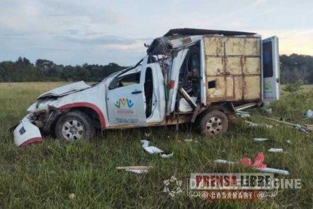 Murió paciente que era trasladada en una ambulancia que se accidentó en la vía Marginal del Llano - Noticias de Colombia