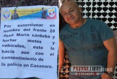 Viernes de atentados y homicidios en Arauca. Un casanareño fue asesinado - Noticias de Colombia