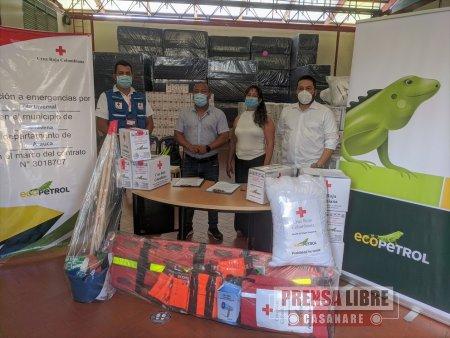 Ecopetrol entregó ayudas humanitarias a damnificados por el invierno en Saravena - Noticias de Colombia
